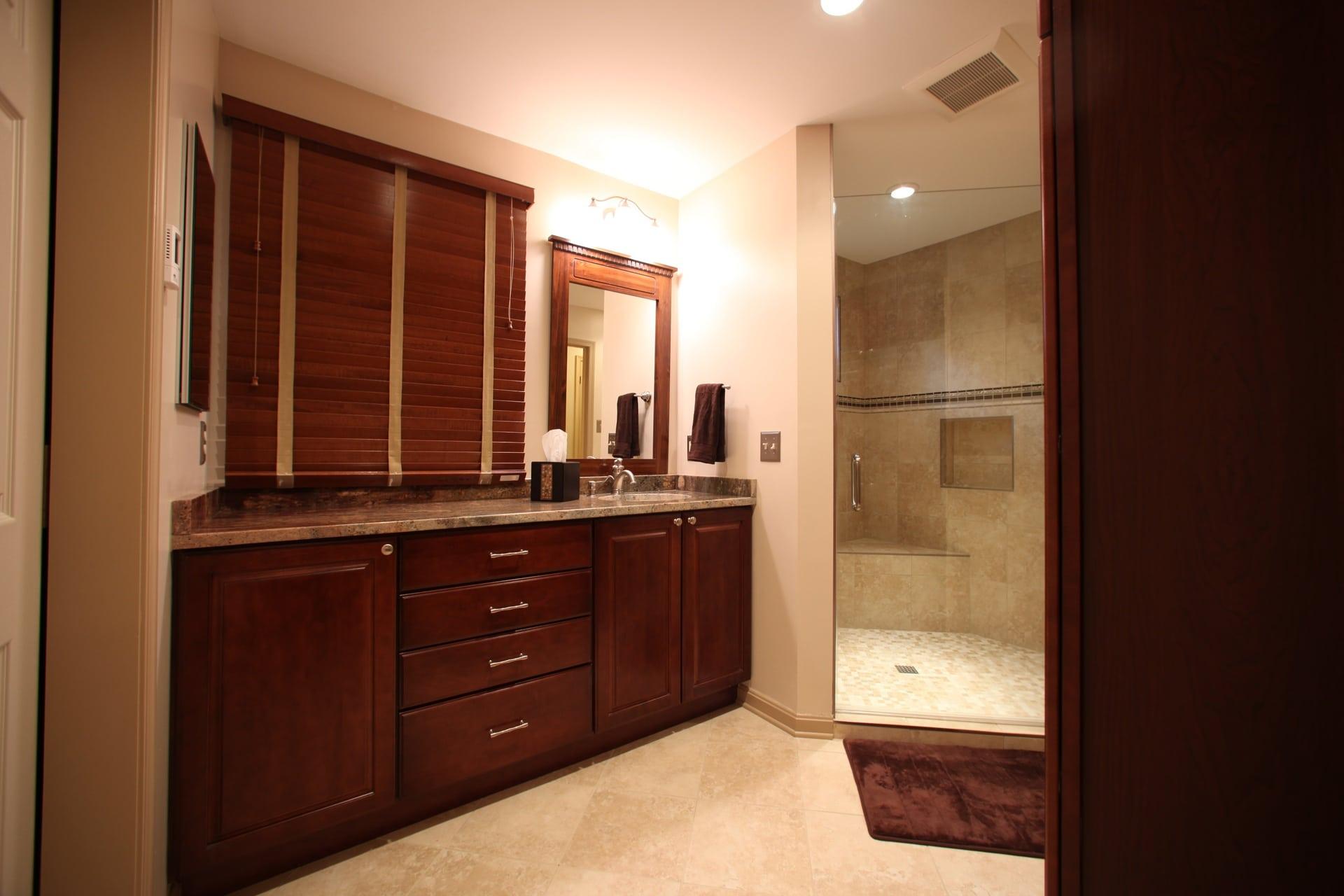Bathroom Remodel - Hambleton Construction (1)